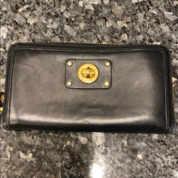Marc By Marc Jacobs Handbags - Authentic Marc by Marc Jacobs black leather wallet